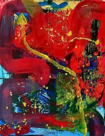 Peter Griesbeck, 010, 100 x 80 cm