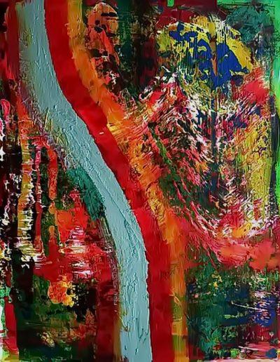 Peter Griesbeck, 011, 100 x 80 cm