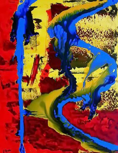Peter Griesbeck, 012, 100 x 80 cm