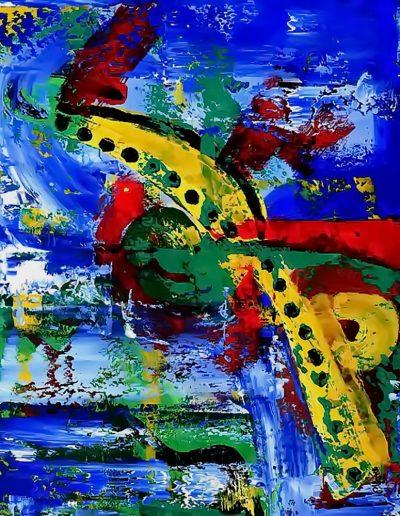 Peter Griesbeck, 118, 100 x 80 cm