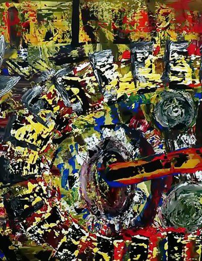 Peter Griesbeck, 124, 80 x 100 cm